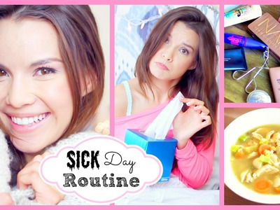 Sick.Chill Day Skincare, Makeup, Outfit + Chicken Soup Recipe!