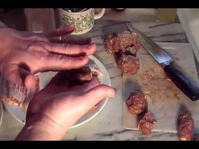 Tim's Double Wrapped Bacon Phatty Explosion on Jimbo Jitsu's Farm House Show
