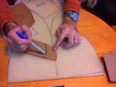 1 Prairie Dog Puppet Build - Tracing the Foam Pattern.wmv