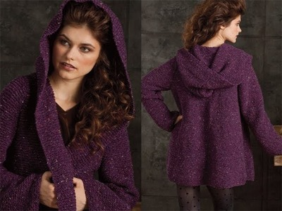 #13 Hooded Jacket, Vogue Knitting Winter 2010.11