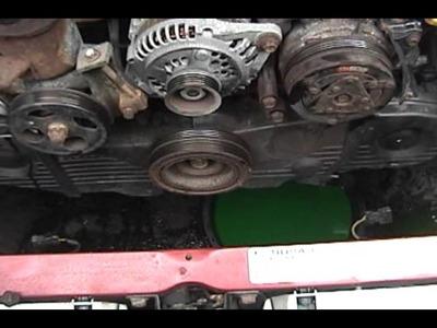 1995 Subaru Legacy - full tune-up DIY guide