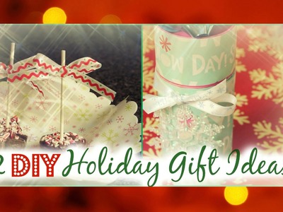 2 DIY Holiday Gift Ideas!