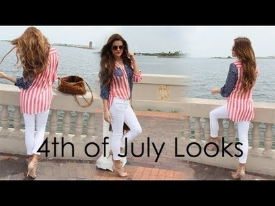 2 Fourth of July Looks in 1: Glammed Up & Laid Back