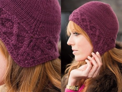 #25 Cable Brim Cap, Vogue Knitting Winter 2011.12