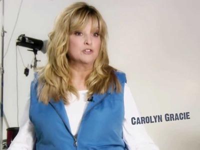 Carolyn Gracie on Denim & Co. Stretch Knit Boot-cut Jeans