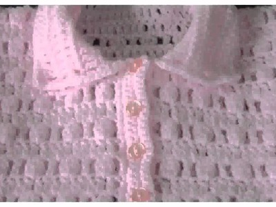 Crochet Baby Sweater Pattern -  Pictures