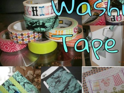 DIY: 5 Washi Tape Crafts
