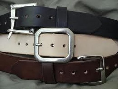 DIY Belt Organizer