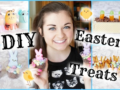 DIY Easter 2014 Treat Ideas & Egg Decorating! | xxmakeupiscoolxx