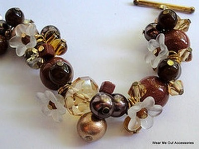 DIY: How to Make Elegant Cluster Bracelet Tutorial