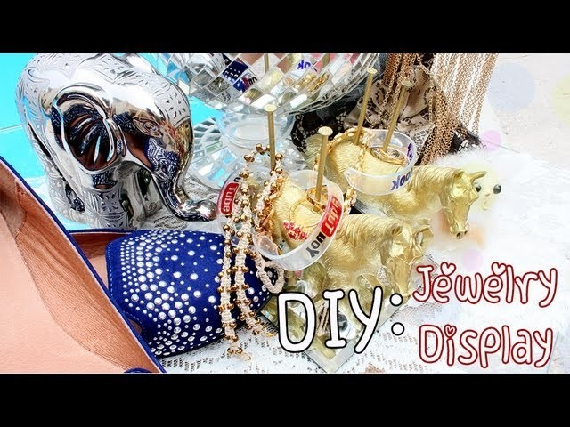 ♡ DIY: Jewelry Holder With Toys {Dollar Store Project}