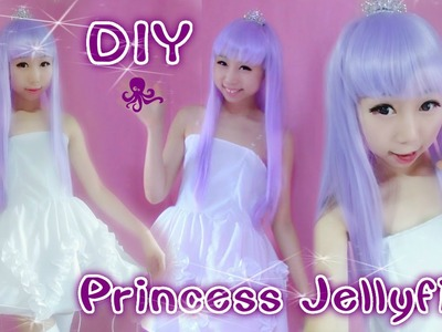 DIY: Princess Jellyfish Inspired Costume.Prom Dress ( Easy)