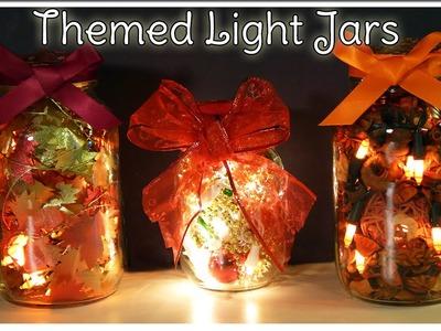DIY Themed Light Jars