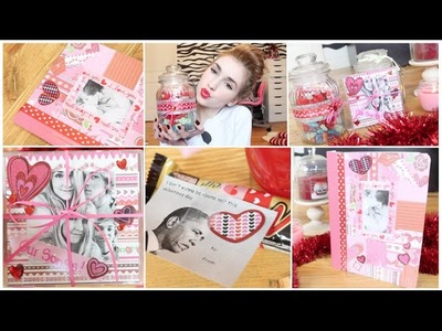 Diy: Valentine's Day Gift Ideas - Great For Boy.Girlfriend & Friends! Affordable and Easy!