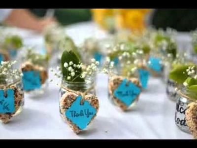 Easy DIY Cheap wedding favors