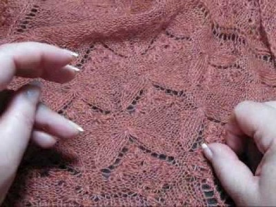 Estonian Lace techiques Part 1.flv