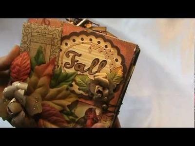 Fall Scrapbook Mini Album