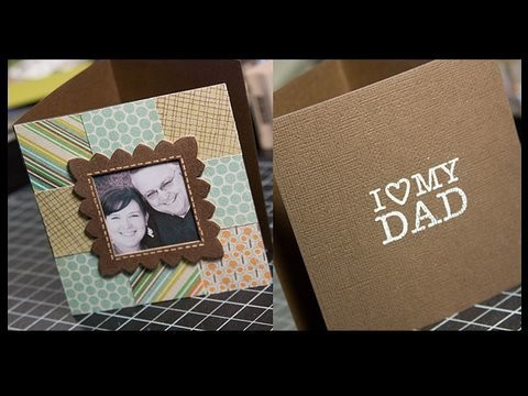 Father Day Photo Card - Make a Card Monday #71