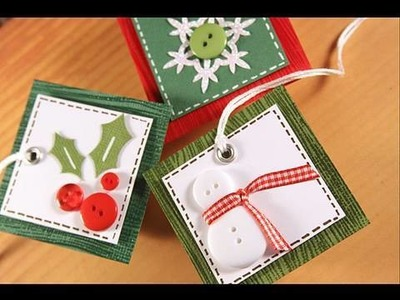 Finally Friday - 3 Christmas Tags