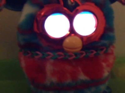 Furby Talks Rainbow Loom
