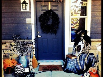 Halloween Outdoor Decor! DIY Tips for the perfect decor!!!! 2013