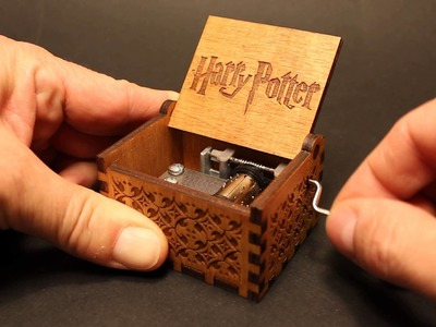 Harry Potter Theme - Music box by Invenio Crafts