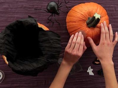 HERSHEY'S - Halloween Craft - Trick-Or-Treat Pumpkin