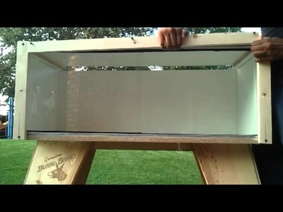 How to make a Melamine Custom Reptile Enclosure DIY (Part 2)