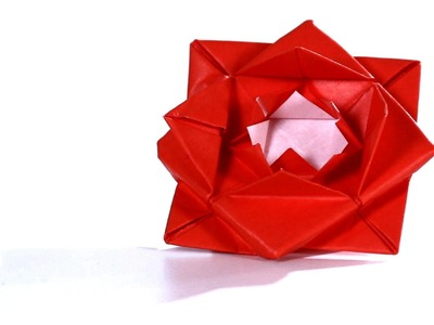 How to Make a Rose   Origami