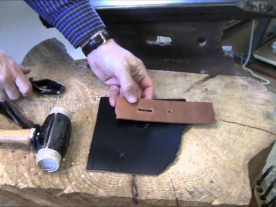 How To Punch Holes In Leather