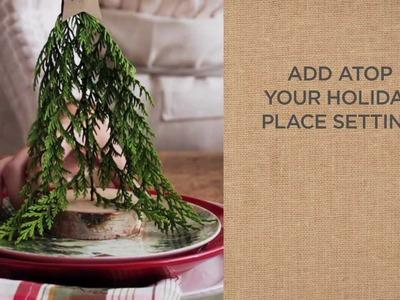 Ideas to Make Beautiful Christmas Place Settings | Pottery Barn