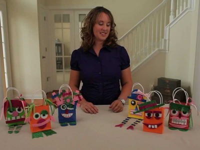 Learn with Jo-Ann: Kids' Crafting with Foam -- Cute Monster Party Favor Bags