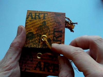 Mixed Media Da Vinci Mini Envelope Book