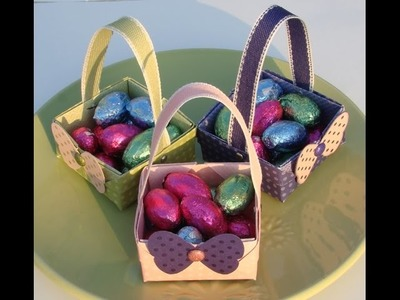 Origami Easter Baskets