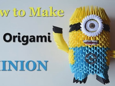 Origami Minion - 3D Model - DIY Tutorials - Giulia's Art