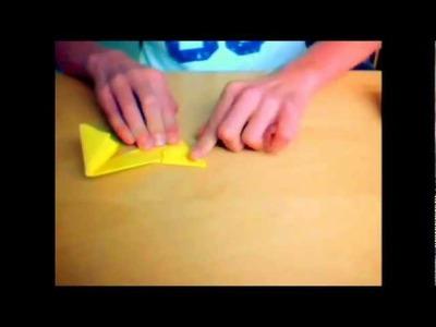 Origami Ninja Star Instructions \ Hoe Vouw Je Een Origami Werpster