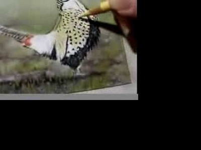 Painting a Day Demonstration - Ringneck Pheasant by Roberta