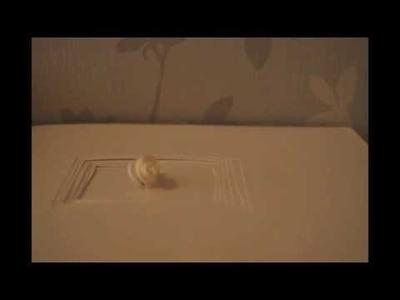 """Something to remember"" paper art animation film by Esma El-Haddaoui"