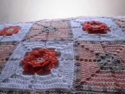 T&P- La Ternura. Tenderness -Crochet. GAnchillo Manta. Blanket. Afghan