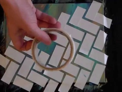 TAPE ART - a DIY Painting