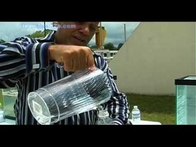 Waste Water Treatment: Sewage to Drinking Water in 10-minutes.