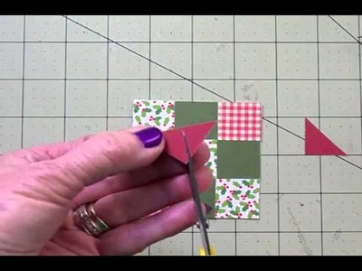 """""""12 DAYS OF CHRISTMAS"""" CARD #7 PAPER QUILTING """"HAVE A WARM & COZY CHRISTMAS"""""""