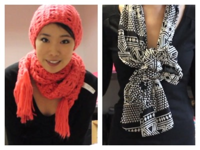 20 Ways to Wear a Scarf for Fall and Winter