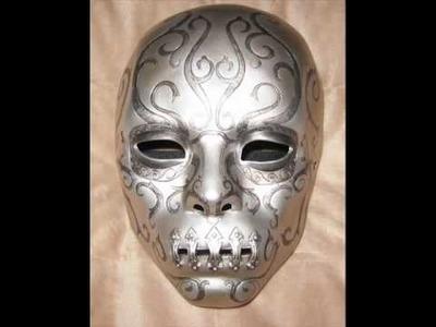 Bellatrix Death Eater Mask Tutorial