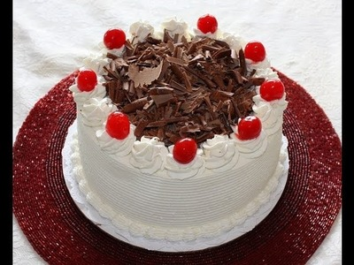 Black Forest Cake Recipe and Decoration