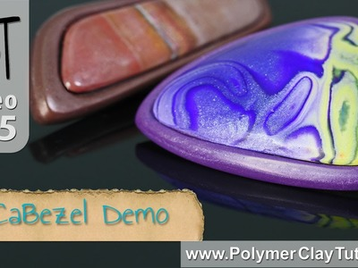 CaBezel Polymer Clay Cabochon and Bezel Molds