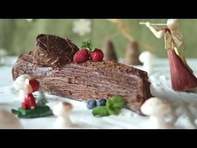 Christmas Yule log recipe - Allrecipes.co.uk