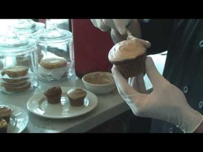 Coca-Cola Cupcakes at the West Egg Cafe