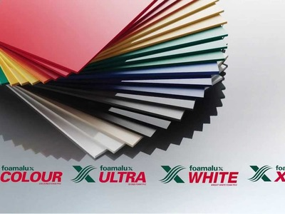 Design, create and innovate with Foamalux Foam PVC Sheet