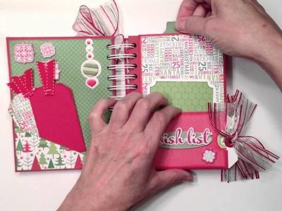 Doodlebug North Pole Christmas Mini Album
